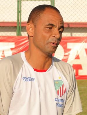 Edson Souza, técnico do São João da Barra (Foto: Fabio Menezes - ASCOM ECSJB)