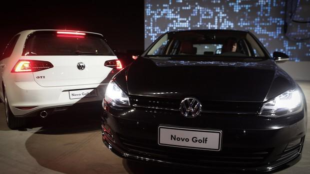 Veja fotos do novo Volkswagen Golf no Brasil