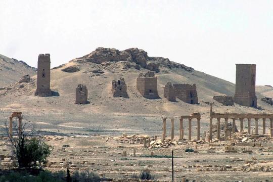As ruínas de Palmira, cidade de 2 mil anos de idade na Síria, agora sob controle do Estado Islâmico (Foto: SANA via AP)
