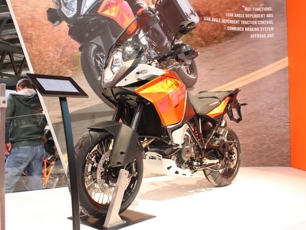 KTM 1190 Adventure 2014 (Foto: Rafael Miotto/G1)