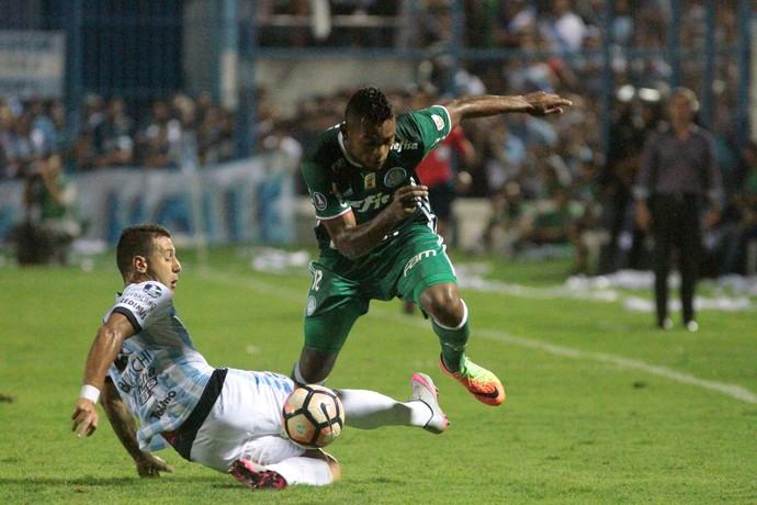 Borja, Tucumán x Palmeiras (Foto: AFP)