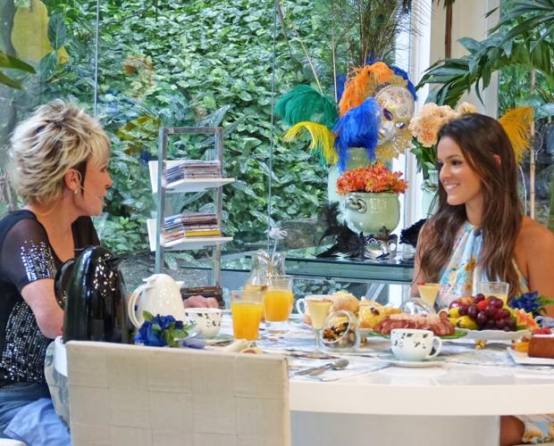 Bruna Marquezine relembrou sua carreira e falou sobre o sucesso em Salve Jorge (Foto: Mais Você/ TV Globo)