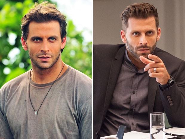 henri castelli antes e depois (Foto: Gshow)