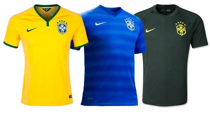 brasil camisa copa Every single World Cup kit (all 32 teams, home & away) on one page