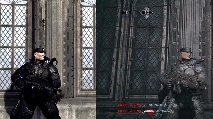 Gears of War Ultimate Edition: vídeo compara gráficos do game com a versão original (Foto: Reprodução/YouTube)