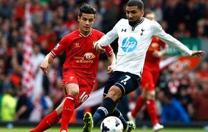 Philippe Coutinho jogo Liverpool e Tottenham (Foto: Reuters)