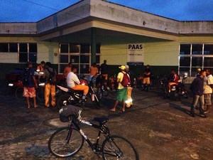 Coletores se reuniram na manhã desta segunda-feira (30) (Foto: Paulo Roberto / Arquivo Pessoal)