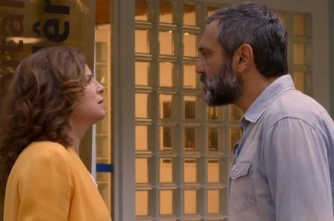 Débora Bloch e Domingos Montagner em Sete vidas (Foto: Reprodução)