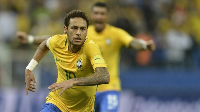 Brasil x Paraguai - Eliminatórias da Copa - América do Sul 2015-2017 ... d4795ba5cf51b