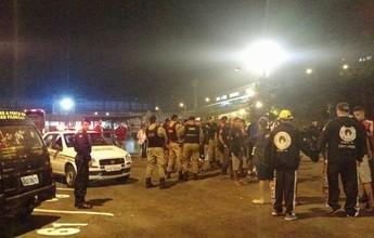 Torcedores se envolvem em briga após jogo entre Tupi-MG e Portuguesa