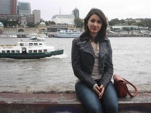 Marina Leal, da UFSC, faz intercâmbio na Universidade de Hamburgo e diz não ter recebido os últimos dois meses de bolsa (Foto: Arquivo pessoal)