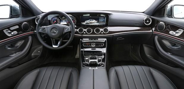 Mercedes-Benz Classe E interior (Foto:  Divulgação)