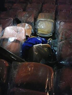 Acidente Arena da Amazonia (Foto: Globoesporte.com)