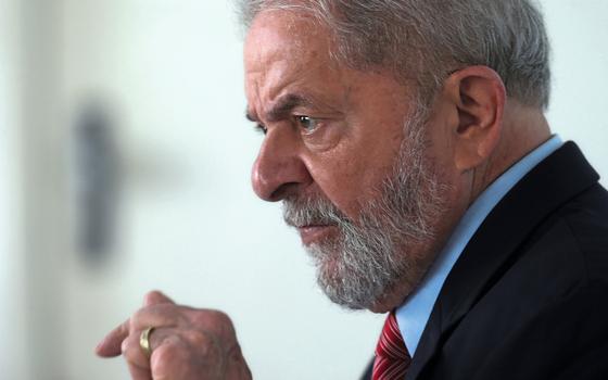 O ex-presidente Luiz Inácio Lula da Silva  (Foto:  Paulo Whitaker/REUTERS)