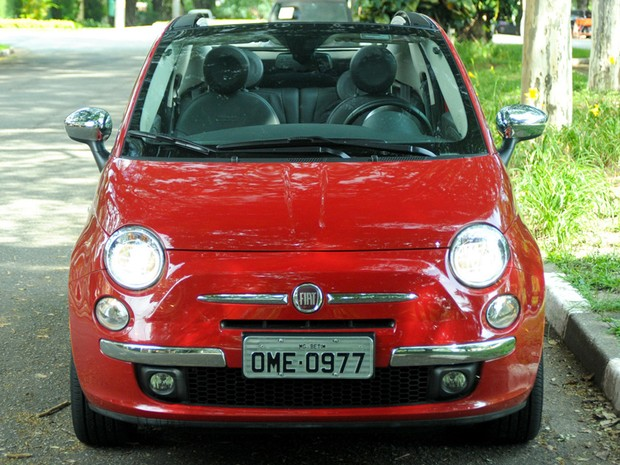 Fiat 500C (Foto: Flavio Moraes / G1)