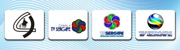 Evolução da marca (Foto: Arte/TV Sergipe)