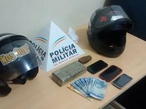 Apreensão Polícia Militar Ituiutaba (Foto: Divulgação/Polícia Militar)