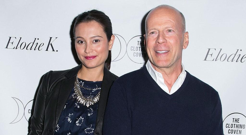 Emma Heming e Bruce Willis (Foto: Divulgação)