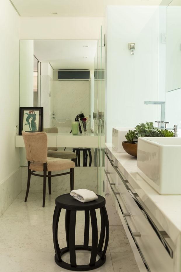 Inspiração italiana no apartamento paulista (Foto: Edu Castello)