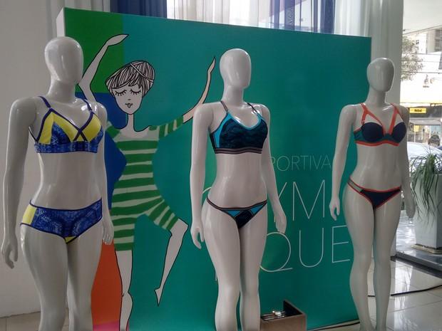 5aceb0030 Lançamento de tendências de moda em lingerie (Foto  Gabriela Alves G1 CE)