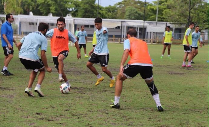 Rodrigo Siqueira e Emerson Miami Dade EUA (Foto: Miami Dade FC / Divulgação)