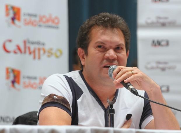 Coletiva Calypso (Foto: Francisco Cepeda/AgNews)