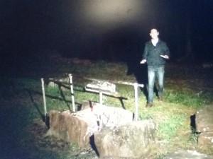 Repórter conta sobre os mistérios (Foto: Reprodução/RBS TV)