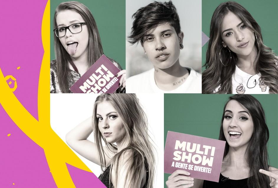 As indicadas na categoria Melhor Cover TVZ apresentam o TVZ Ao Vivo no dia 18 (Foto: Multishow)