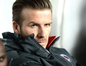 Beckham banco jogo PSG Montpellier  (Foto: AFP)
