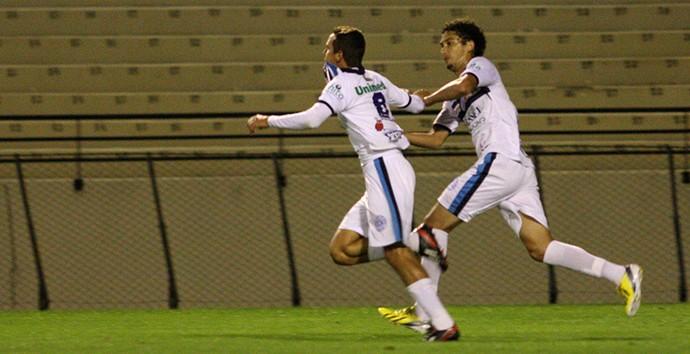 Bruno Ré marca em sua volta ao São Bento (Foto: Jesus Vicente / EC São Bento)