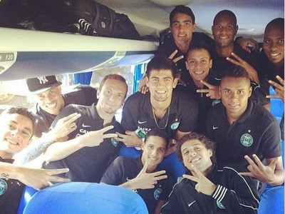Coritina viaja para a estreia no Campeonato Brasileiro (Foto: Reprodução/ Instagram)