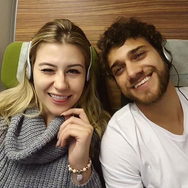 Niina Secrets e Guilherme Oliveira (Foto: Reprodução/Instagram)