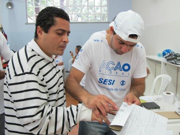 Rogério Hermínio elogiou a organização do evento (Foto: Divulgação/Yuri Hutflesz)