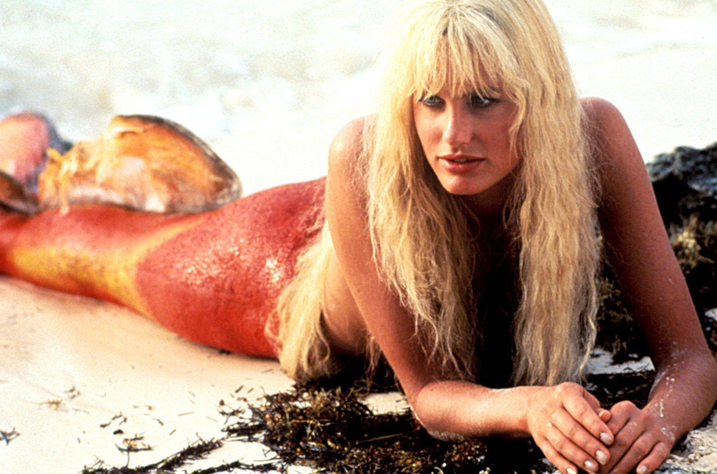 """Daryl Hannah em """"Splash - Uma Sereia em Minha Vida"""" (Foto: Reprodução)"""