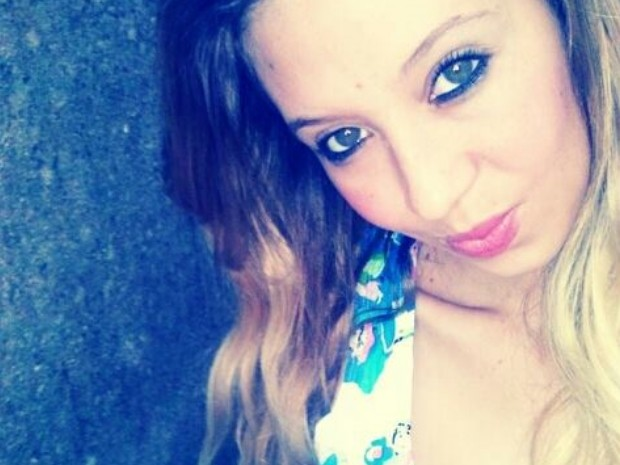 Jéssica Ferreira foi morta a golpe de chave de fenda em Caldas Novas, Goiás (Foto: Reprodução/TV Anhanguera)