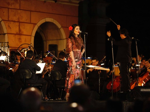 A cantora líria Gabriella Florenzano veio de São Paulo para participar da apresentação da nona sinfonia de Beethoven em Belém (Foto: Gabriella Florenzano / Arquivo pessoal)