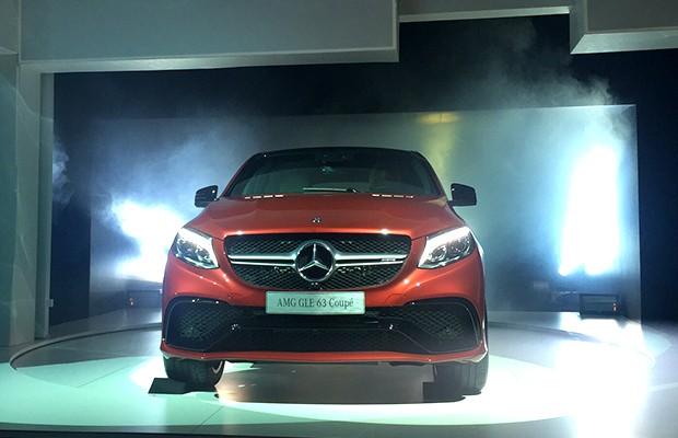 Mercedes AMG GLE 63 Coupé (Foto: Autoesporte)