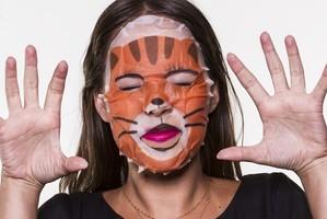 Máscaras com estampa de bicho são febre na Ásia