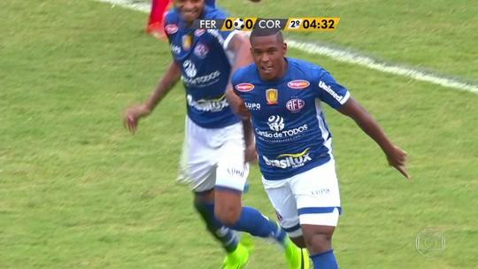 Gol irregular faz Corinthians perder da ameaçada Ferroviária em Araraquara