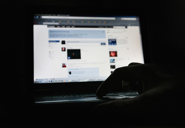 Facebook; computador; rede social (Foto: Dan Kitwood/Getty Images)
