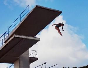 Luana Lira, atleta paraibana de saltos ornamentais da paraiba (Foto: Lucas Barros / GloboEsporte.com/pb)