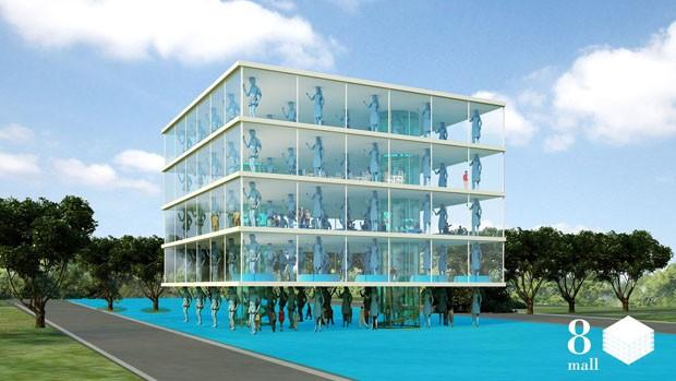 Designer usa arquitetura para promover diálogo entre Coreia do Norte e do Sul (Foto: Divulgação)