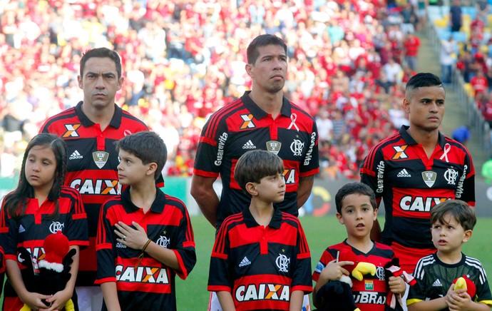 Flamengo x Santos - outubro rosa (Foto: Maurício Bazílio / Ascom SES)