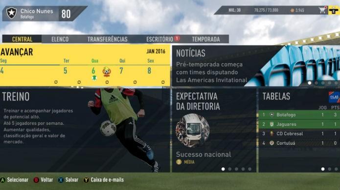 FIFA 17 e PES 2017: a série da EA se sai melhor nas partidas online (Foto: Reprodução/TechTudo)