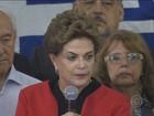 Dilma fala sobre relatório do FMI que prevê queda da economia brasileira