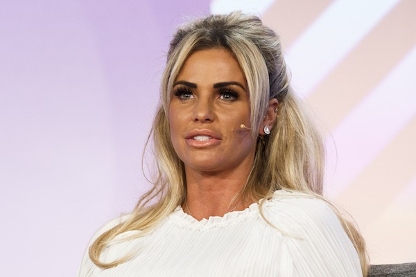 A modelo Katie Price (Foto: Getty Images)