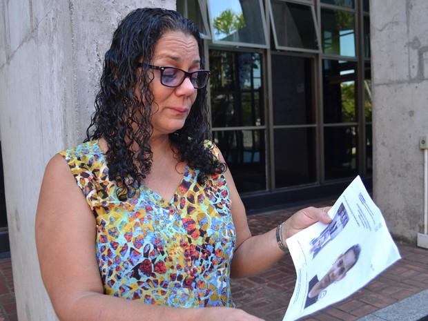 Mãe procura filha desaparecida há 16 anos no Espírito Santo (Foto: Juirana Nobres/G1)
