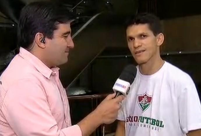 Magno Alves, em entrevista ao SporTV News (Foto: Reprodução SporTV)