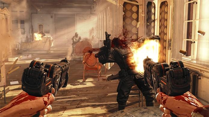 Wolfenstein apresenta um futuro alternativo dominado por nazistas (Foto: edge-online.com)