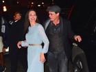 Première de filme tem Angelina Jolie e Brad Pitt